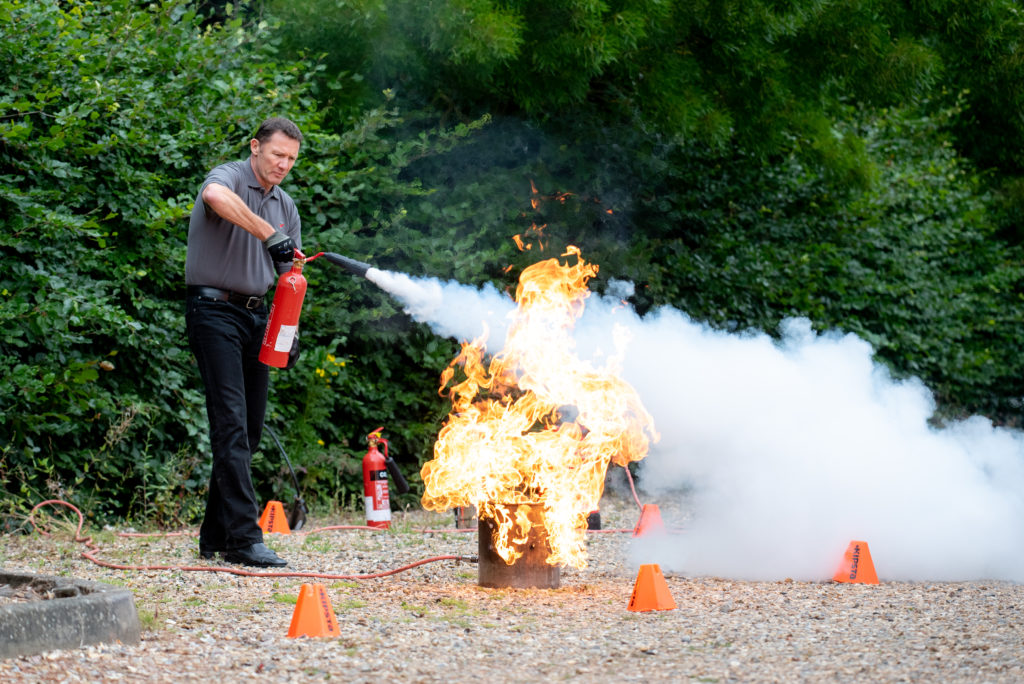 Fire demonstration